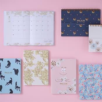 今年はノートブックカレンダーも新登場!