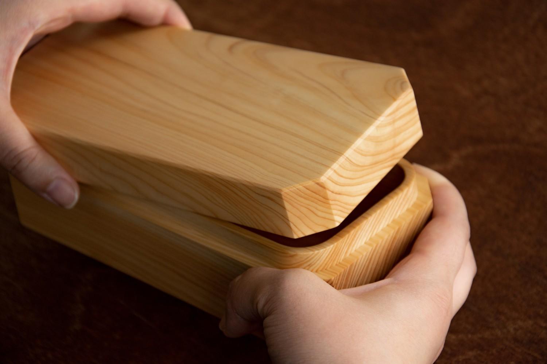 紀州ヒノキ弁当箱