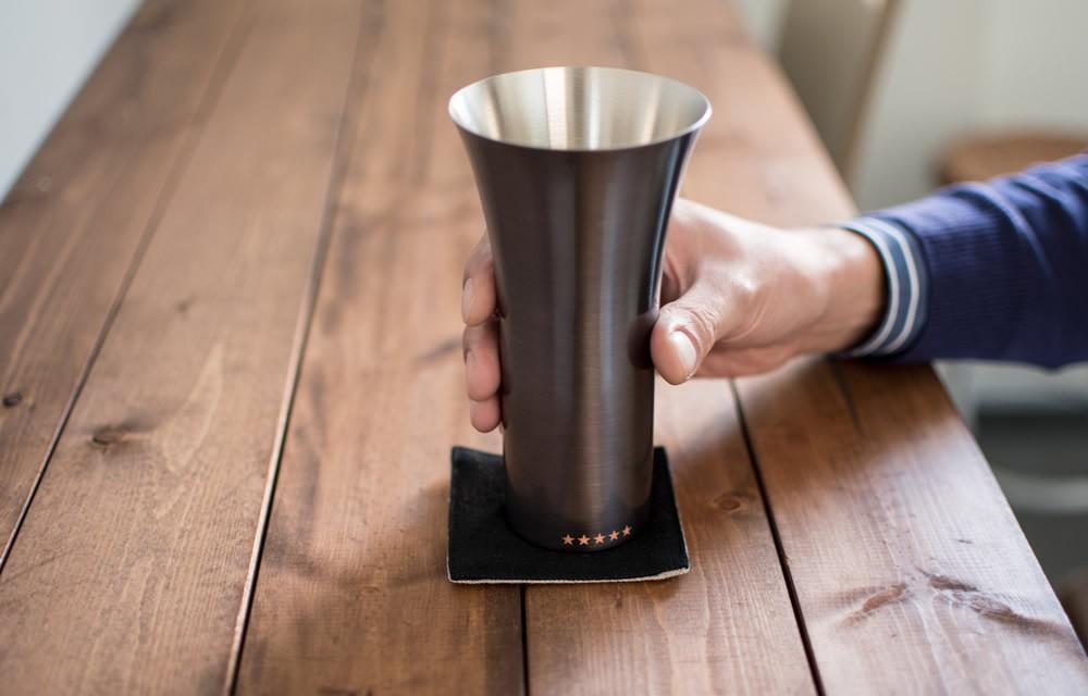 純銅製ビアグラス