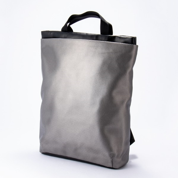 RUCK BAG L(Silver Mesh)/acrylic(アクリリック)