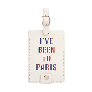 ラゲージタグ/I have been to Paris/ban.do
