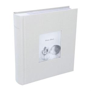 [ポストカードサイズ・200枚収納可]フォトフレームアルバム/グレージュ マークス