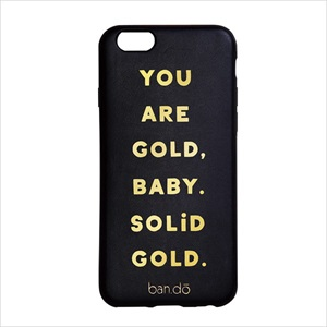 iPhone7・6s・6 対応  スマホカバー (背面ケース)/Solid gold/ban.do