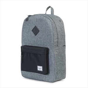 Heritage Backpack(Raven Crosshatch/Black/Black)/Herschel(ハーシェル)