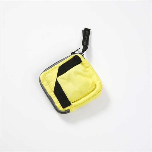 KEY & PASS CASE/キー&パスケース/TOGAKURE・CETAseries(トガクレ) マークス(LIME YELLOW)