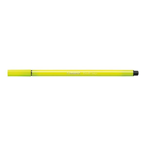 ペン 68 水性ペン 水性インク 1mm フェルトチップ ベンチレーションキャップ式/STABILO(スタビロ)