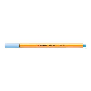 ポイント88 水性ペン 水性インク 0.4mm 長寿命金属保護チップ ベンチレーションキャップ式/STABILO(スタビロ)