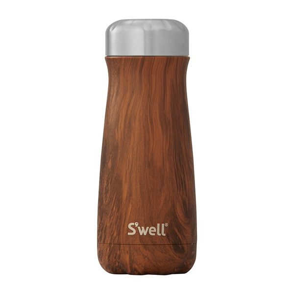ボトル・16oz・470ml/S'well(スウェル)/ウッド/チークウッド