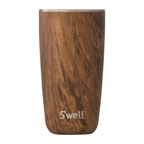 S'well スウェル タンブラー・リッド付・18oz・530ml<ウッド チークウッド>