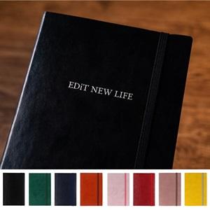 【名入れ】EDiT 手帳 2022 スケジュール帳 1月始まり 1日1ページ B6変型 スープル