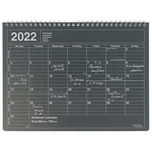 マークス 手帳 2022 スケジュール帳 1月始まり 月間ブロック M ノートブックカレンダー