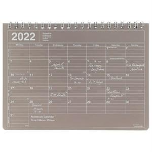 マークス 手帳 2022 スケジュール帳 1月始まり 月間ブロック S ノートブックカレンダー