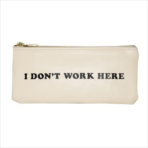 ペンケース/I dont work here/ban.do