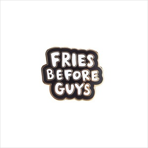 エナメルピン/Fries before guys/ban.do