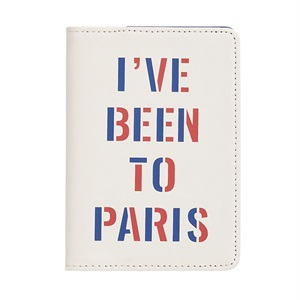 パスポートフォルダー/I have been to Paris/ban.do