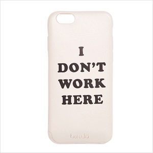 【iPhone7専用】背面ケース/I dont work here/ban.do