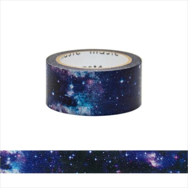 アロマが香るマスキングテープ/「マステ」/コズミック